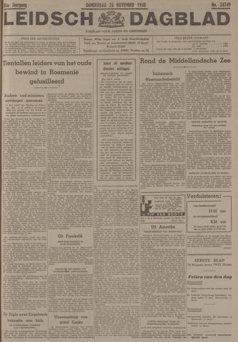 Leidsch Dagblad 1940-11-28