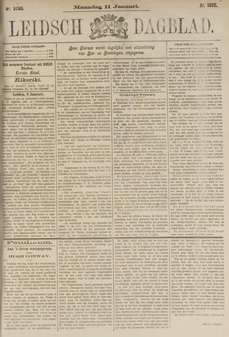 Leidsch Dagblad 1892-01-11