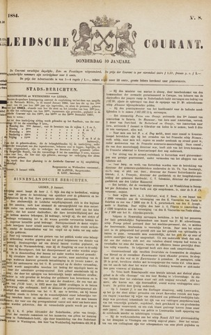 Leydse Courant 1884-01-10