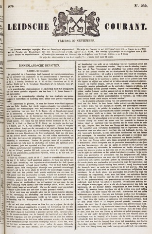 Leydse Courant 1876-09-29