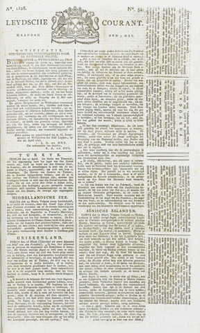 Leydse Courant 1828-05-05