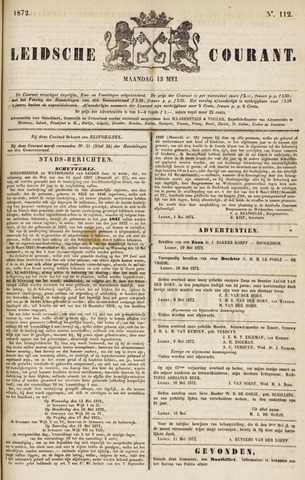 Leydse Courant 1872-05-13