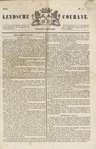 Leydse Courant 1863