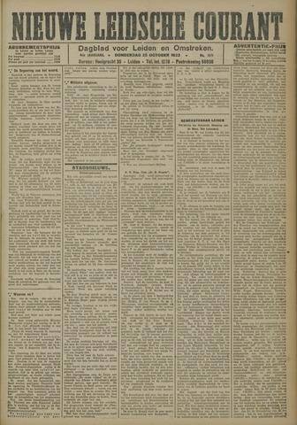 Nieuwe Leidsche Courant 1923-10-25