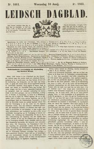 Leidsch Dagblad 1863-06-10