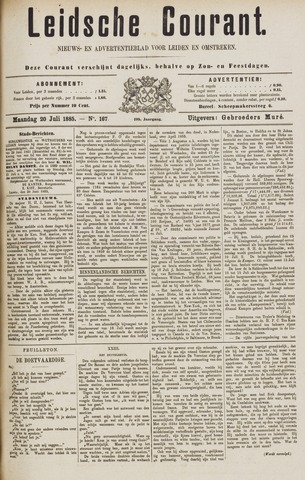 Leydse Courant 1885-07-20