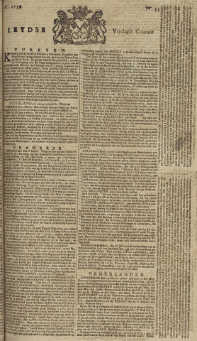 Leydse Courant 1759-03-16