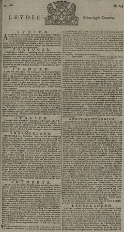 Leydse Courant 1728-11-29