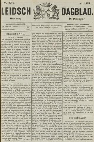 Leidsch Dagblad 1868-12-16