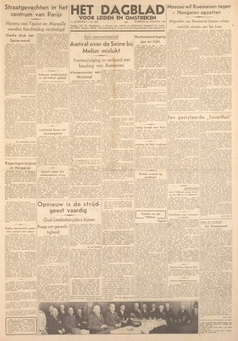 Dagblad voor Leiden en Omstreken 1944-08-26