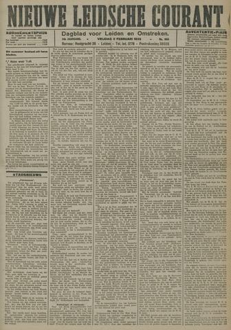 Nieuwe Leidsche Courant 1923-02-02