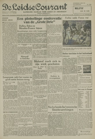 Leidse Courant 1954-07-14