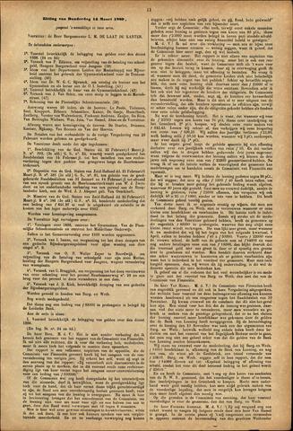 Handelingen van de Raad 1889-03-14