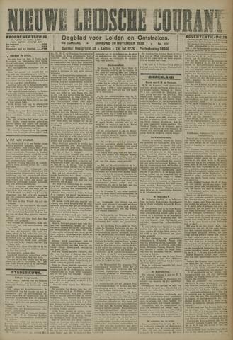 Nieuwe Leidsche Courant 1923-11-20