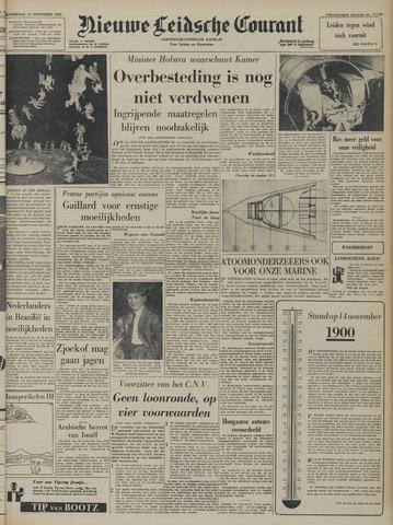 Nieuwe Leidsche Courant 1957-11-14