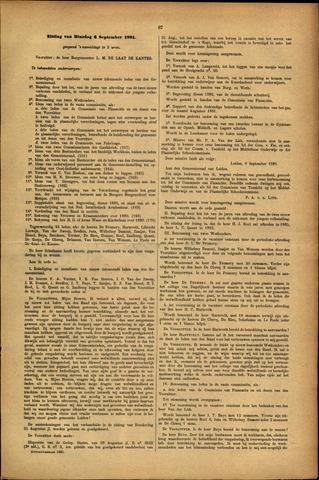 Handelingen van de Raad 1881-09-06
