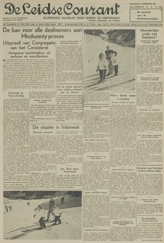 Leidse Courant 1949-02-14