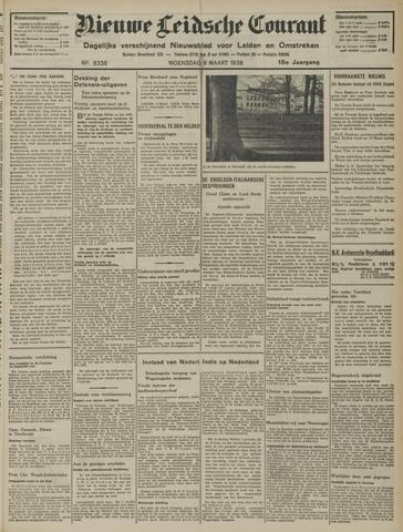 Nieuwe Leidsche Courant 1938-03-09