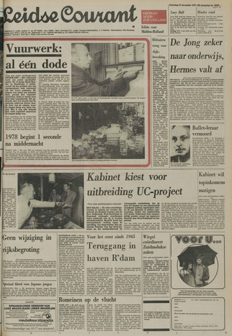 Leidse Courant 1977-12-31