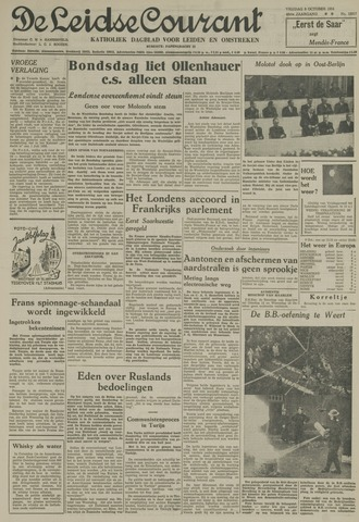 Leidse Courant 1954-10-08