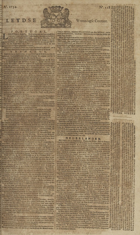 Leydse Courant 1754-10-02
