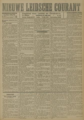 Nieuwe Leidsche Courant 1923-06-27