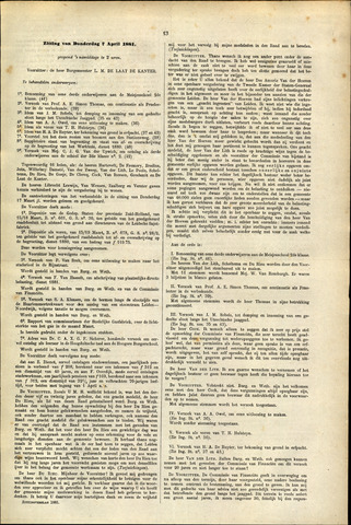 Handelingen van de Raad 1881-04-07