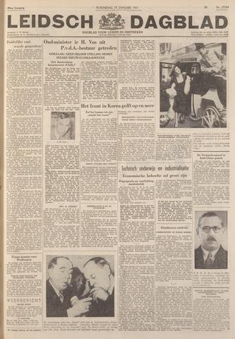 Leidsch Dagblad 1951-01-17