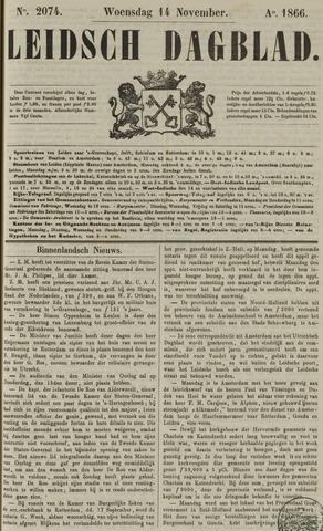 Leidsch Dagblad 1866-11-14