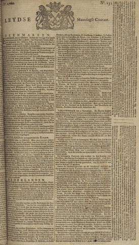 Leydse Courant 1760-11-03