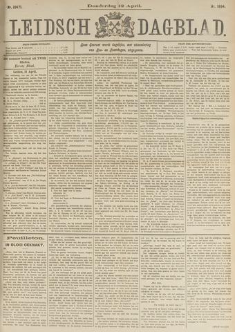 Leidsch Dagblad 1894-04-12