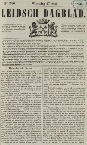 Leidsch Dagblad 1866-06-27