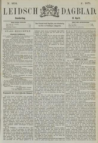 Leidsch Dagblad 1875-04-15