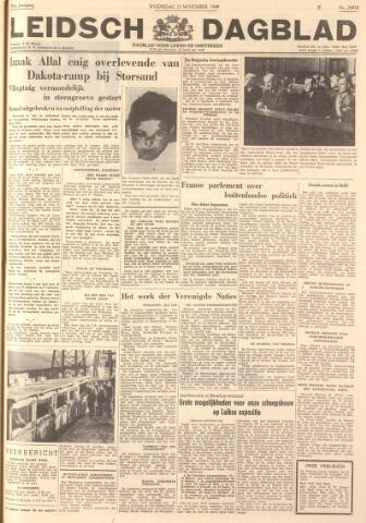 Leidsch Dagblad 1949-11-23