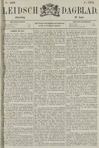 Leidsch Dagblad 1873-06-21