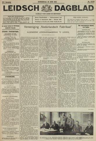 Leidsch Dagblad 1932-06-30