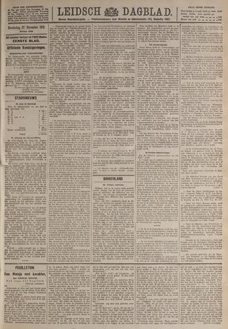 Leidsch Dagblad 1919-11-27