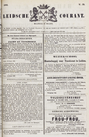 Leydse Courant 1882-03-27