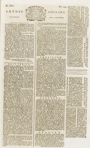 Leydse Courant 1822-12-02