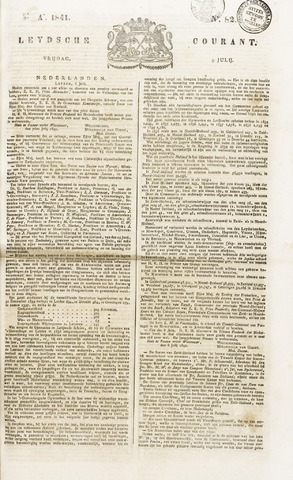 Leydse Courant 1841-07-09
