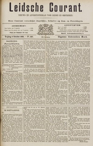 Leydse Courant 1885-10-09