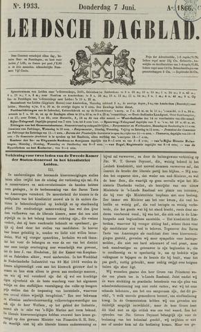 Leidsch Dagblad 1866-06-07