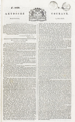 Leydse Courant 1839-03-13