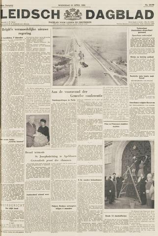 Leidsch Dagblad 1954-04-21