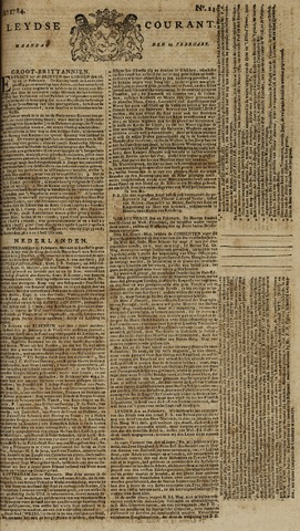 Leydse Courant 1784-02-23