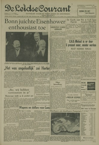 Leidse Courant 1959-08-27