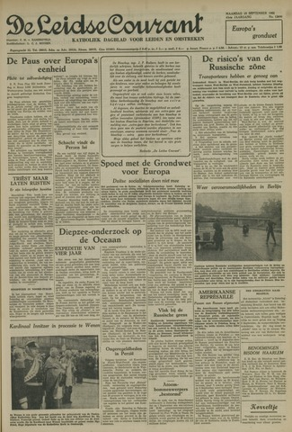 Leidse Courant 1952-09-15