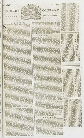 Leydse Courant 1828-11-14