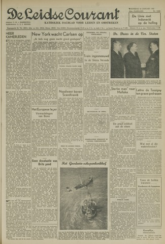 Leidse Courant 1952-01-16
