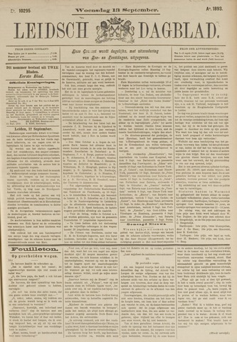 Leidsch Dagblad 1893-09-13